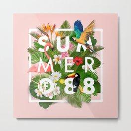 SUMMER of 88 Metal Print