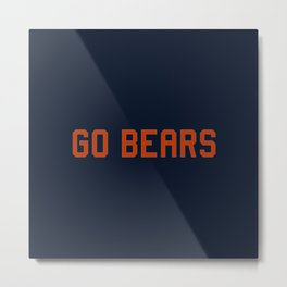 Chicago Football Metal Print