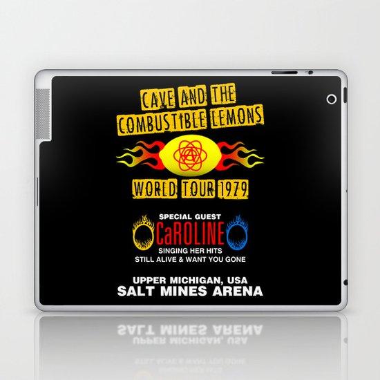 Cave & The Combustible Lemons Laptop & iPad Skin