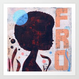 FRO Art Print