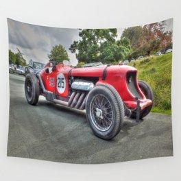 Vintage Napier Bentley Racing Car Wall Tapestry