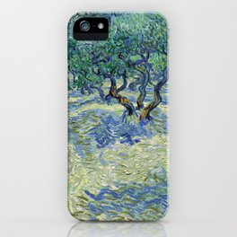 Olive Orchard by Vincent van Gogh iPhone Case