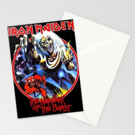 iron maiden album 2020 ansel12 Stationery Cards