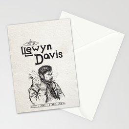 Inside Llewyn Davis - Sketchy Stationery Cards