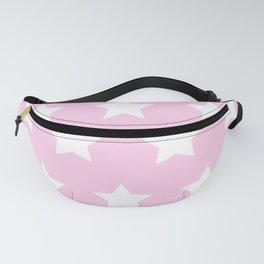 Pastel pink stars Fanny Pack