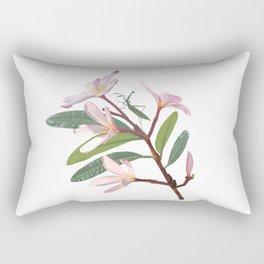 Frangipani Temptress Rectangular Pillow