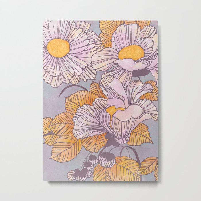 Sun Blossoms Metal Print