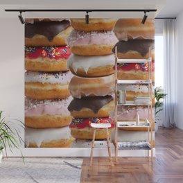 LOVE MY CHOCOLATE  DONUTS & COOKIES Wall Mural