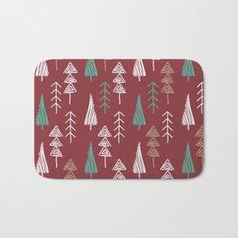 Tree forest Bath Mat