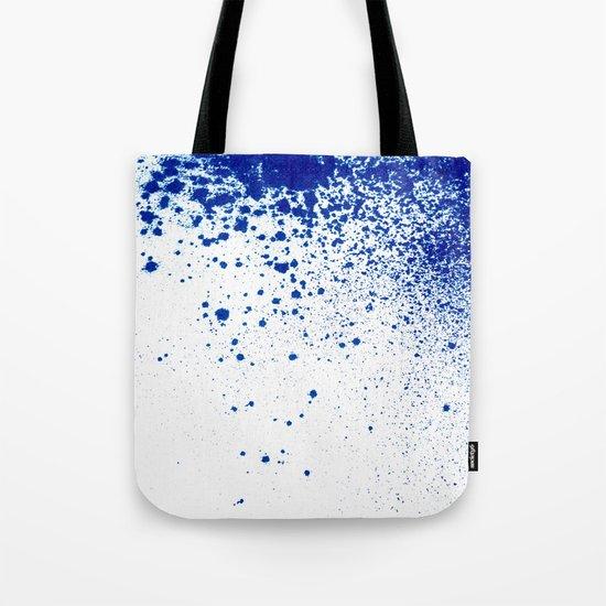 COBALT SPLATTER # 2 Tote Bag