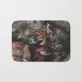 Babylonian  Bacon  Bath Mat