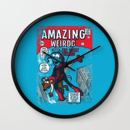 Amazing Wierdo Wall Clock