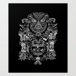Ri-Damn-Diculous Art Print
