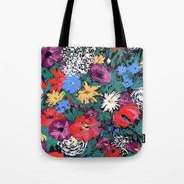 Redon floral Tote Bag