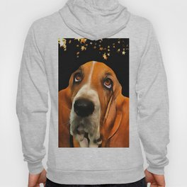 A Basset Hound. (Painting.) Hoody