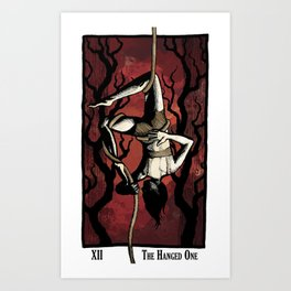 The Hanged One Art Print