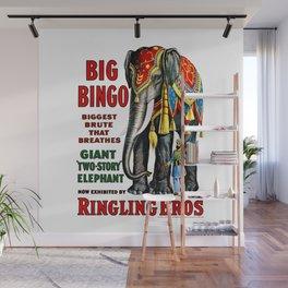 Big Bingo - Vintage 1916 Circus Poster Wall Mural