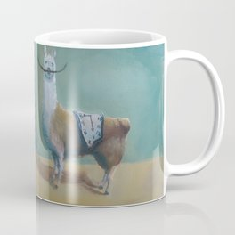 Dali Llama Funny Mustache Melted Clock Salvador Dadaism Coffee Mug