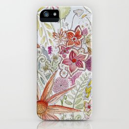 unfurl into the wild  iPhone Case