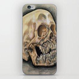 Skull Color Pencil  iPhone Skin