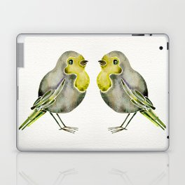 Little Yellow Birds Laptop & iPad Skin