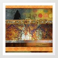 western Art Prints featuring WESTERN GOLD by VIAINA