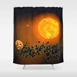 The Apocalypse Shower Curtain