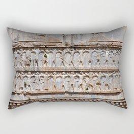 Persian King Xerxes I Tomb Engravings, Persia, Iran Rectangular Pillow