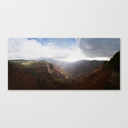Waimea Canyon Canvas Print