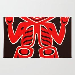 Haida Indians Alaska Blanket Design Rug