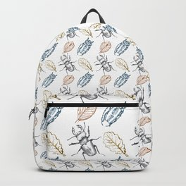 Bugs and leaves Backpack