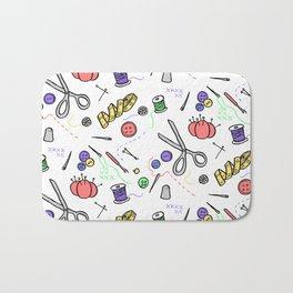 sewing pattern Bath Mat