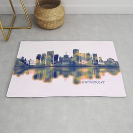 Bucharest Skyline Rug