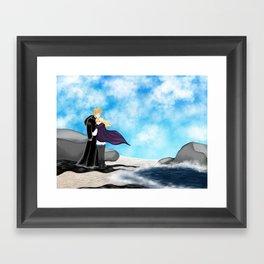 Sophie and Keefe Framed Art Print