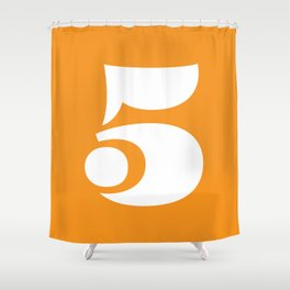 Eames 5 Shower Curtain