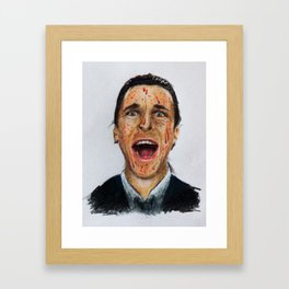 American Psycho - Patrick Bateman Framed Art Print