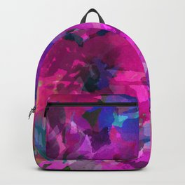 Pink Poppy Jungle Backpack