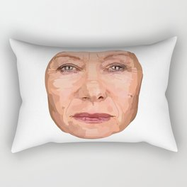 Shaping the Stars - Helen Mirren Rectangular Pillow