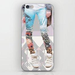 the pants. iPhone Skin