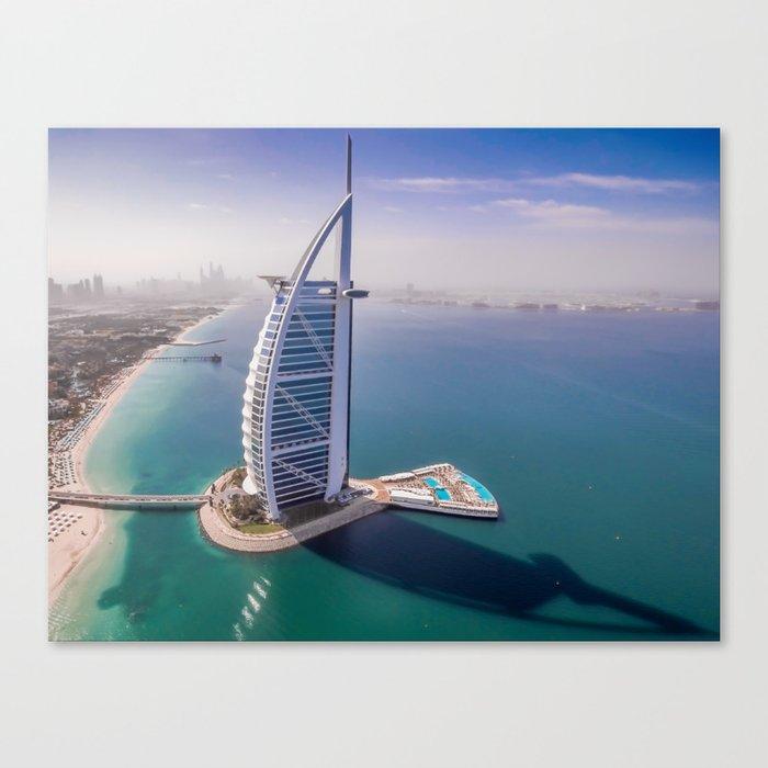 Burj A Arab Canvas Print