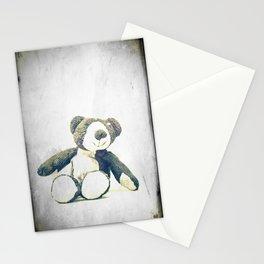 sitting teddy bear... Stationery Cards