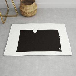 Black and White Element IV Rug