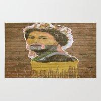 jenny liz rome Area & Throw Rugs featuring Liz by Teresa Gabry