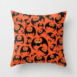 Bats! Throw Pillow