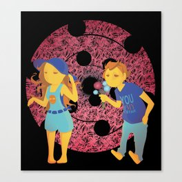 Young ones Canvas Print