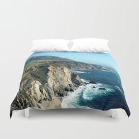california Duvet Covers featuring California by NatalieBoBatalie