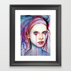 nom de plume (VIDEO IN DESCRIPTION!!) Framed Art Print