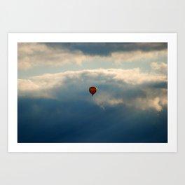 Balloon Art Print