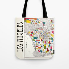 Los Angeles Streets Tote Bag