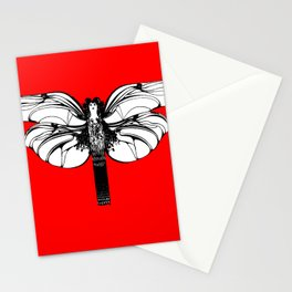 "Koloman (Kolo) Moser ""Butterfly design"" (5) Stationery Cards"